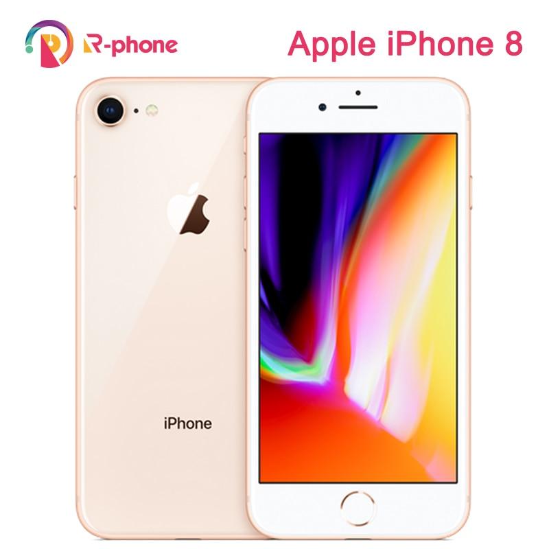 Teléfono Móvil Apple iPhone 8 2GB RAM 64/256GB ROM carga inalámbrica huella digital LTE iOS 12MP hexa-core desbloqueado