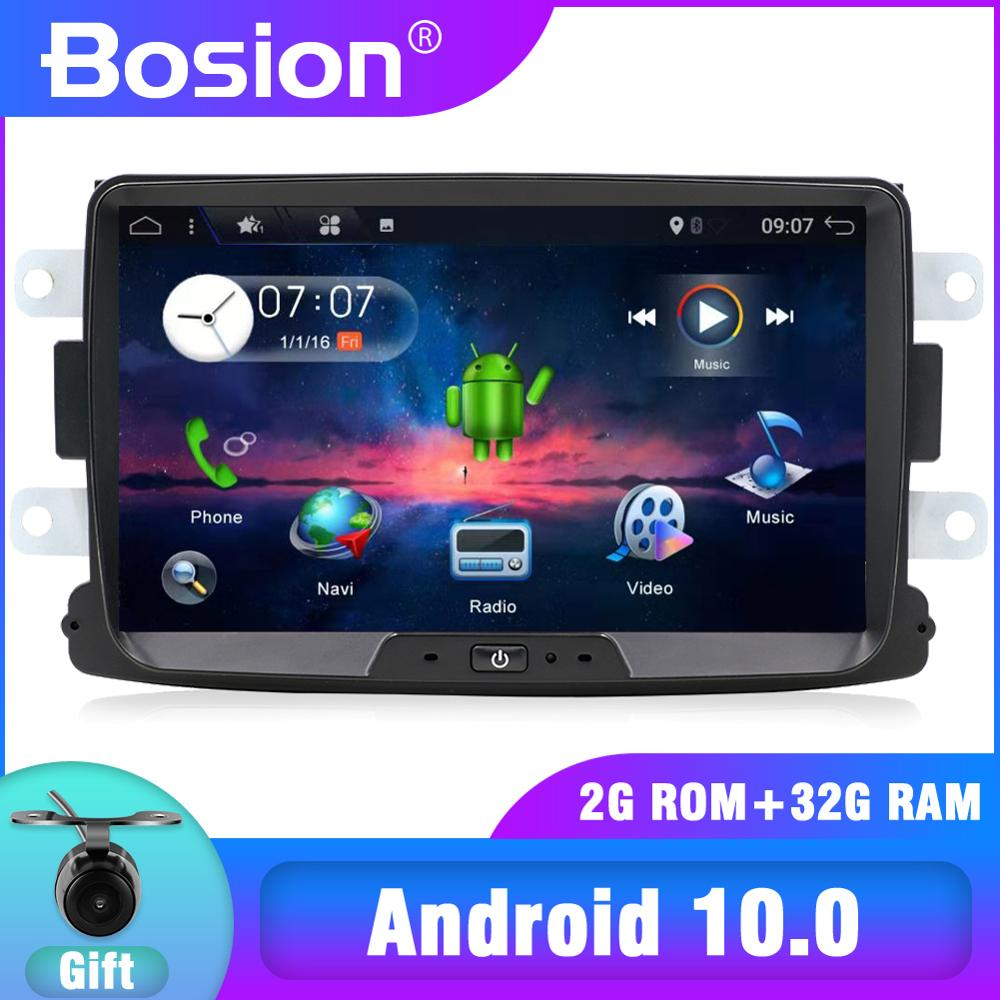 4/8 core Android 10,0 coche multimedia GPS para Dacia Sandero Duster Renault Captur Lada Xray 2 Logan 2 Dokker Lodgy 2012-2017 WIFI