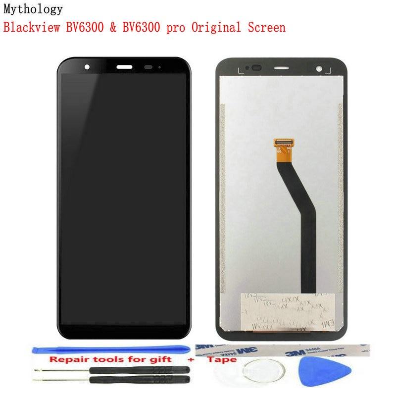 Original LCD for BLACKVIEW BV6300 Pro Touch Screen Display Helio P70 6GB+128GB Waterproof Accessorie