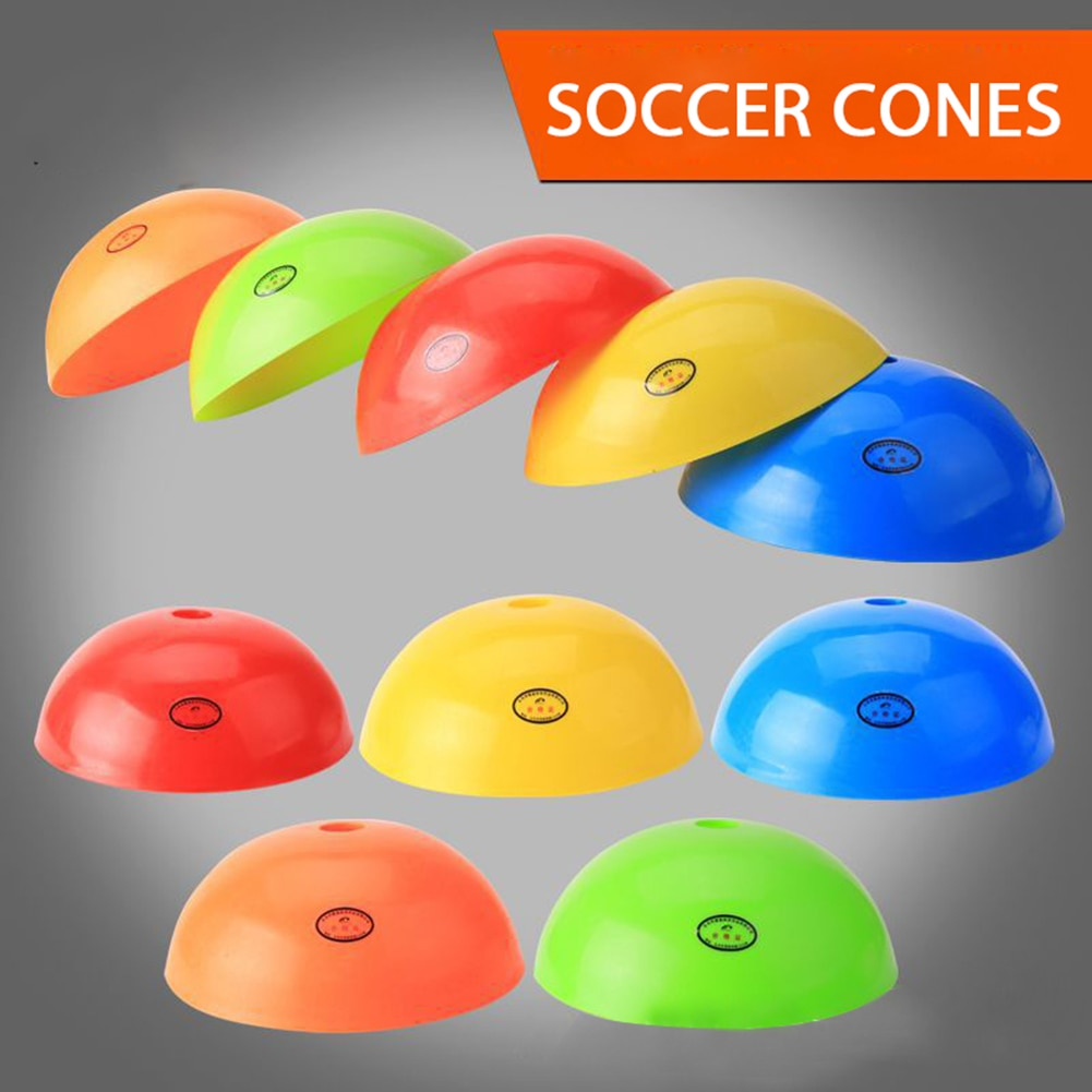 Hot Sale Training Soccer Cones Football Disc Cones Saucer for Basketball Sports Field Fitness Traini