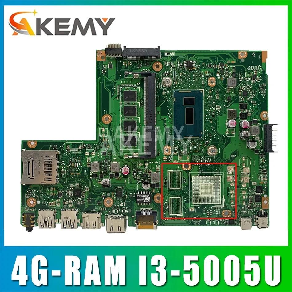 Akemy X540LJ carte mère D'ordinateur Portable pour ASUS VivoBook X540L R540L F540L A540L X540LA carte mère d'origine 4G-RAM I3-5005U