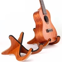 portable detachable wooden kalimba holder stand thumb piano display stand fixed frame for 10 key 17 key finger piano accessories