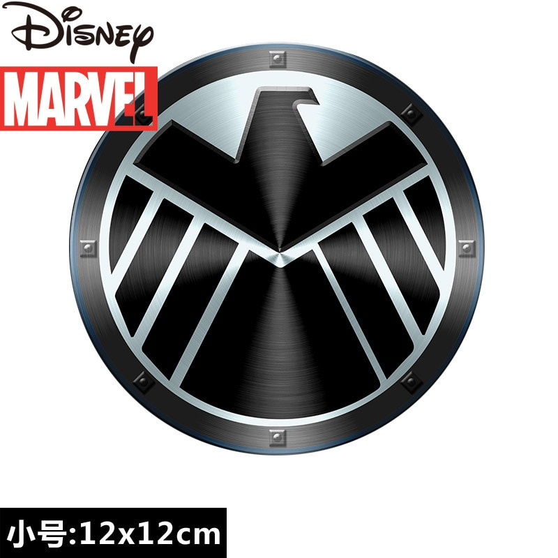 Marvel Avengers Heroes Captain America 3d Logo Motorcycle Car Sticker Car Sticker Luggage Sticker  - buy with discount