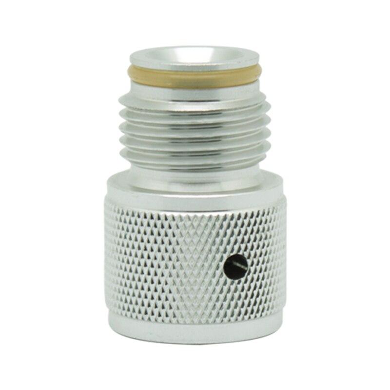 Cilindro de cartucho de Co2 SPUNKY 88g 3oz a adaptador de rosca de tanque de Paintball