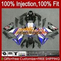 injection for yamaha yzf r1 1000 r 1 yzf1000 124no 48 yzf r1 yzfr1 09 10 11 12 yzf 1000 2009 2010 2011 2012 black blue fairing