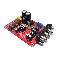 YJ 5.1 M62446 pre-amp board+Volume Remote control controller 6-channel