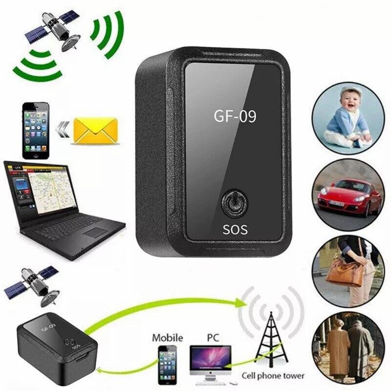 Мини-GPS-трекер, автомобильный GPS-локатор, Антивор-трекер, Gps-трекер, устройство отслеживания записи, голосовое управление