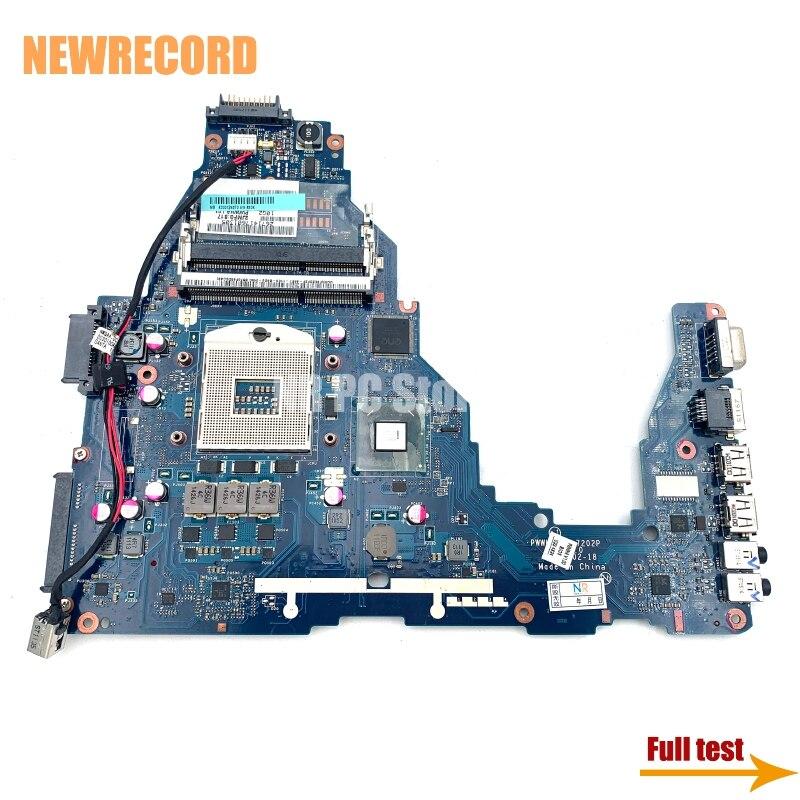 NEWRECORD PWWHA LA-7202P K000124370 لتوشيبا C660 اللوحة المحمول HM65 UMA DDR3 main board اختباره بالكامل