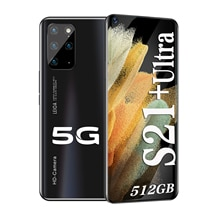 Galay S21+Ultra Smartphone 7.2 HDinch 12GB+512GB 5800mAh Global Version 4G/5G Android10.0 Mobile pho