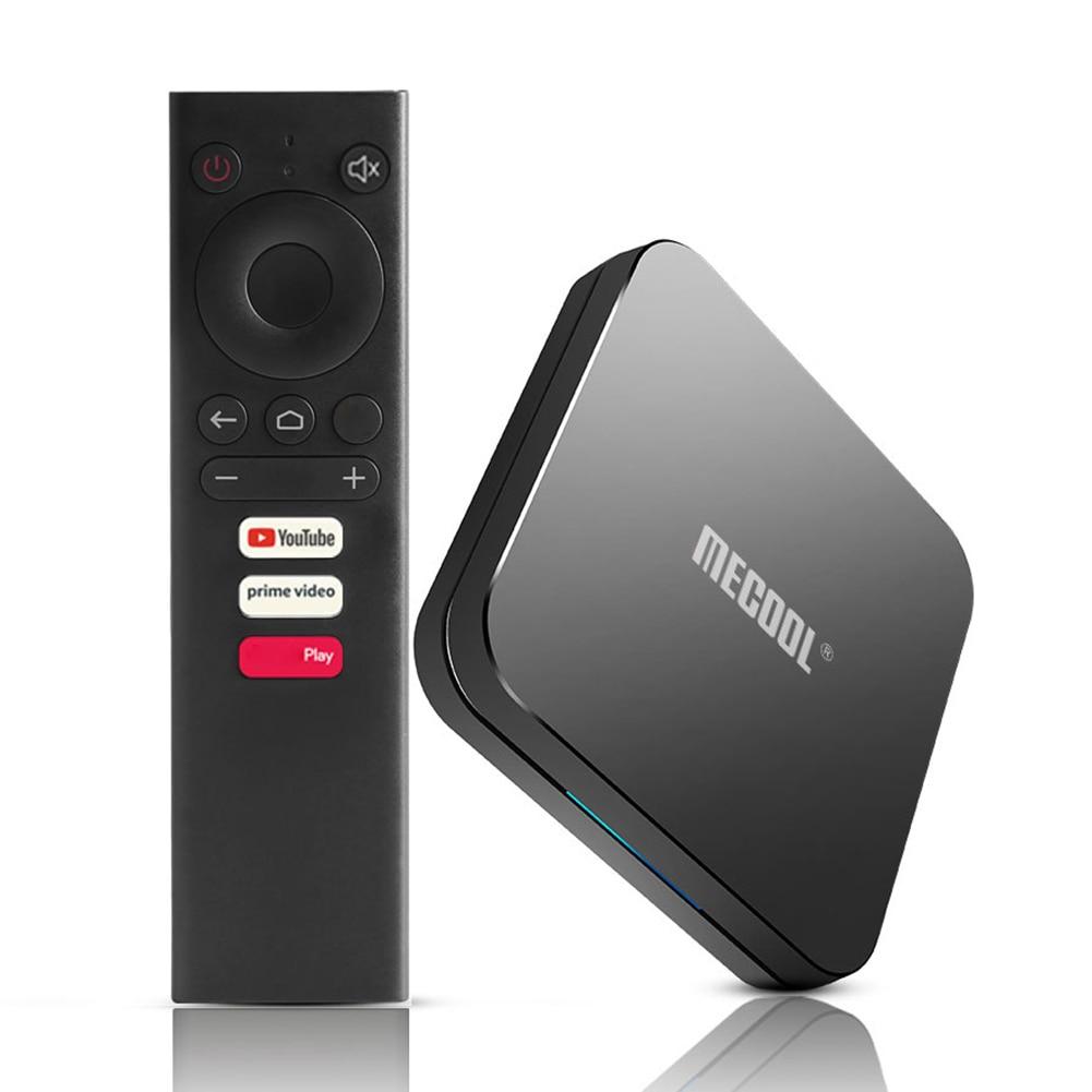 Mecool KM9 Pro TV caja Android 10 2GB RAM 16GB ROM 2,4 GHz WiFi BT decodificador 4K Media Player para certificado por Google TV Box