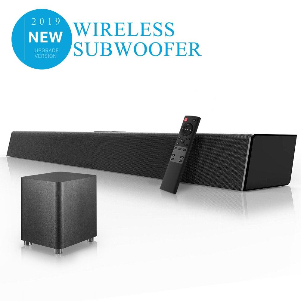 Sistema de sonido de cine en casa barra de sonido TV Bluetooth altavoz soporte óptico AUX barra de sonido Coaxial Subwoofer Inalámbrico para TV
