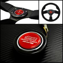 Red Emblem Steering Wheel Horns Button for Honda
