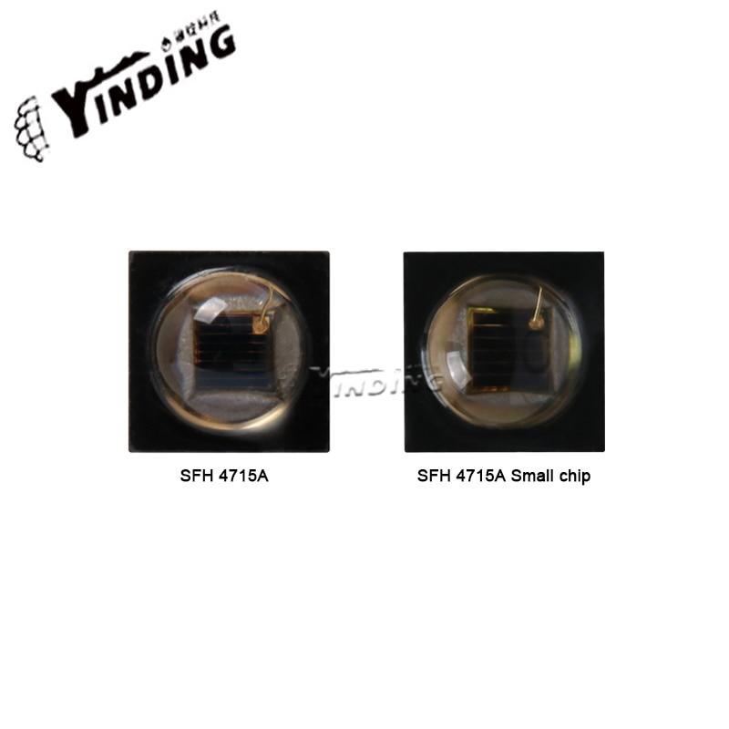 5 uds., OSLON SFH 4715A, 4W, lámpara led de potencia Alta, cuentas, luz infrarroja, reconocimiento de Iris, fuente de luz, sistema de monitoreo de cámara