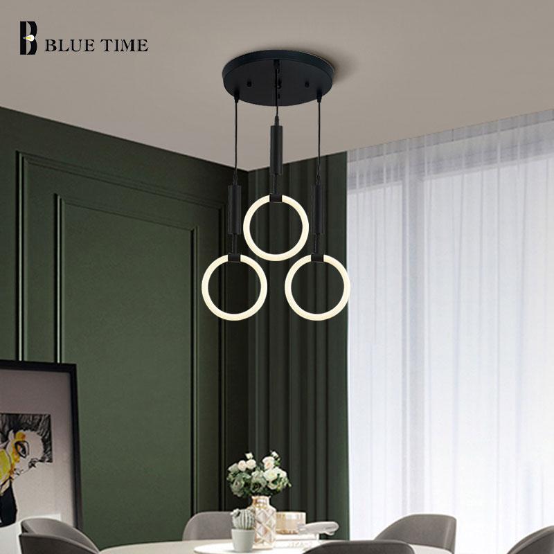 Nordice Modern Led Chandelier 110V 220V Ceiling Chandelier Lighting For Living room Dining room Bedroom Bedside Light Fixtures