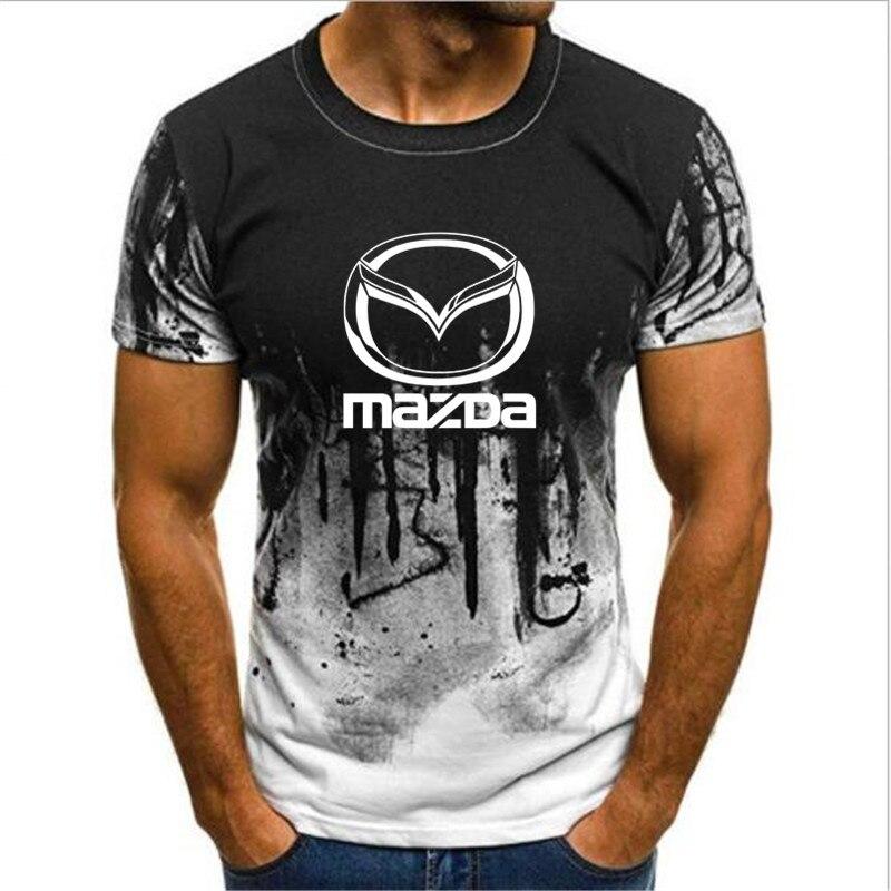 Бесплатная доставка, новинка 2020, модная летняя футболка с логотипом Rotary power Mazda, RX7 MX5, MX-5, RX8, DRIFT, футболка