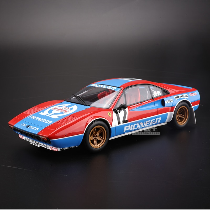 OTTO 1:18 فيراريس 308 GTB grope4 محاكاة طبعة محدودة سيارة رياضية نموذج الراتنج سيارة السلاحف