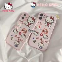 hello kitty for iphone 78pxxrxsxsmax1112pro12mini female cute silicone anti drop phone case