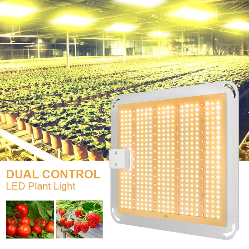 Plant LightBrand New 1000W Dual Control LED Plant Light Greenhouse Plant Growth Light Indoor Plant Fill Light High Power