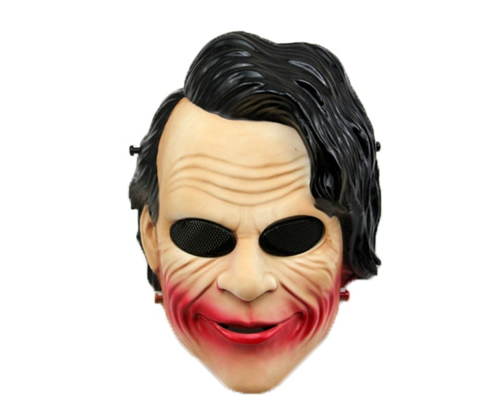 free shipping halloween children s clown costume masquerade performance clothing stage circus clown comedy costume boy cosplay Airsoft Military Paintball Mask Funny Smiley Clown Masquerade Cosplay Costume Halloween Party Accessory Tactical Full Face Masks