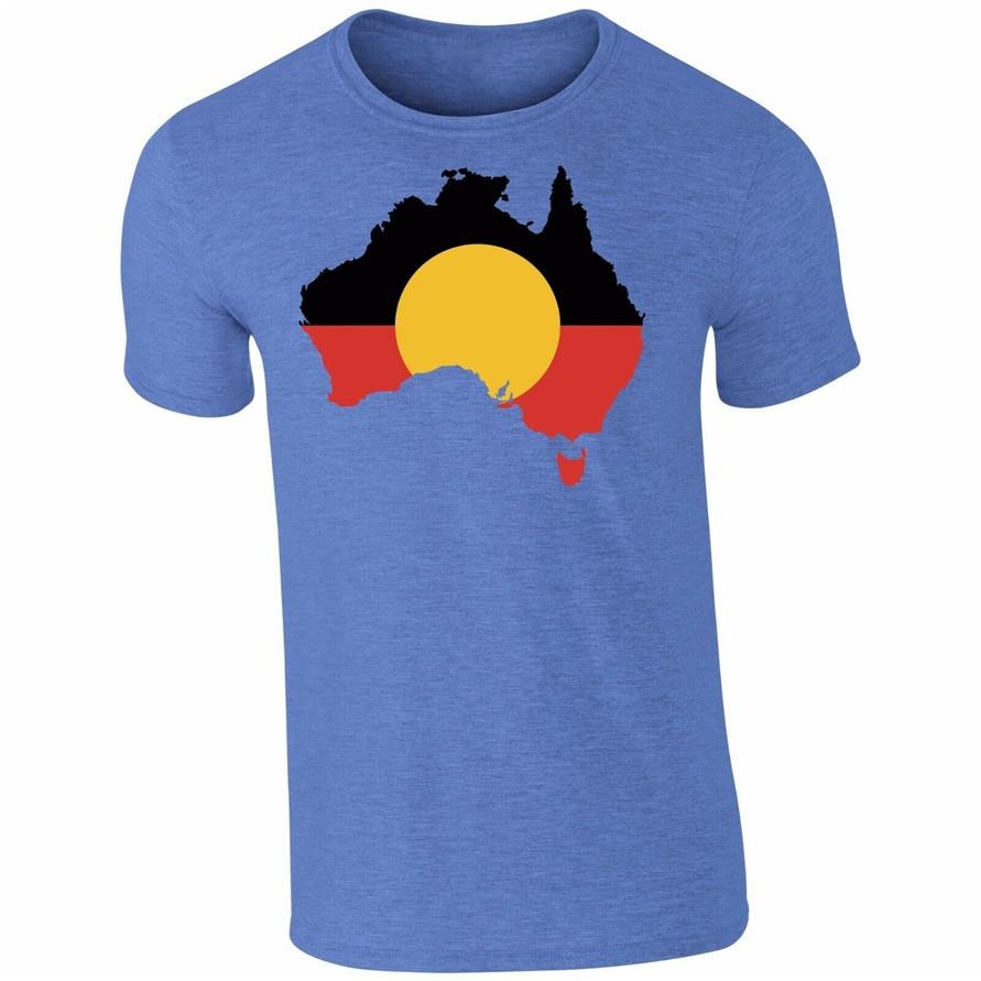 Camiseta divertida aborigen de Australia camiseta Top Tumblr novedad regalo secreto Santa masculino camiseta femenina