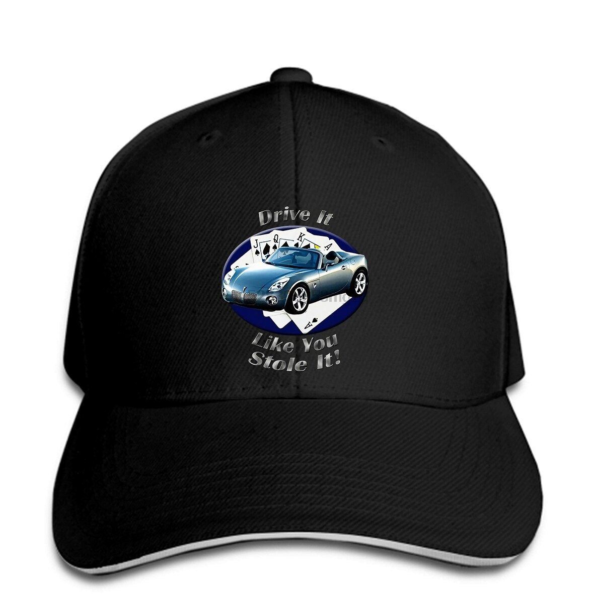Pontiac Solstice Drive It Mens Dark Men gorra de béisbol gorra Snapback mujeres sombrero pico