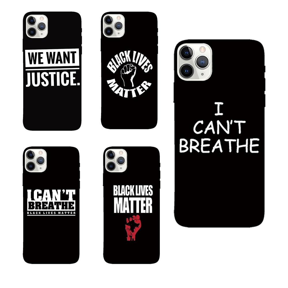 USA free Breathe soft case for iphone 11 pro x xs max xr 8 76 6s  plus SE 2 matte silicone phone cover Black coque fundas capa