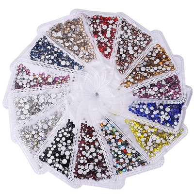 amethyst ab non hotfix crystal rhinestones ss3 ss30 and mixed sizes glue on glass chaton diy backpack clothes bag shoes supplies 5Gram/Bag ss3-ss30 Mix Sizes Nail Art Non HotFix Crystal Rhinestone,Flatback 3D Glass Non Hot Fix Rhinestones Nail Decoration