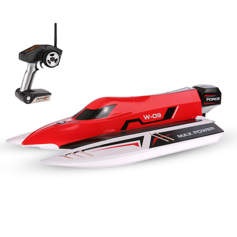 WL915 2.4Ghz2CH F1 45km/h Brushless High Speed Racing Boat Model RC Boat Speedboat Kids Gifts RC Toy