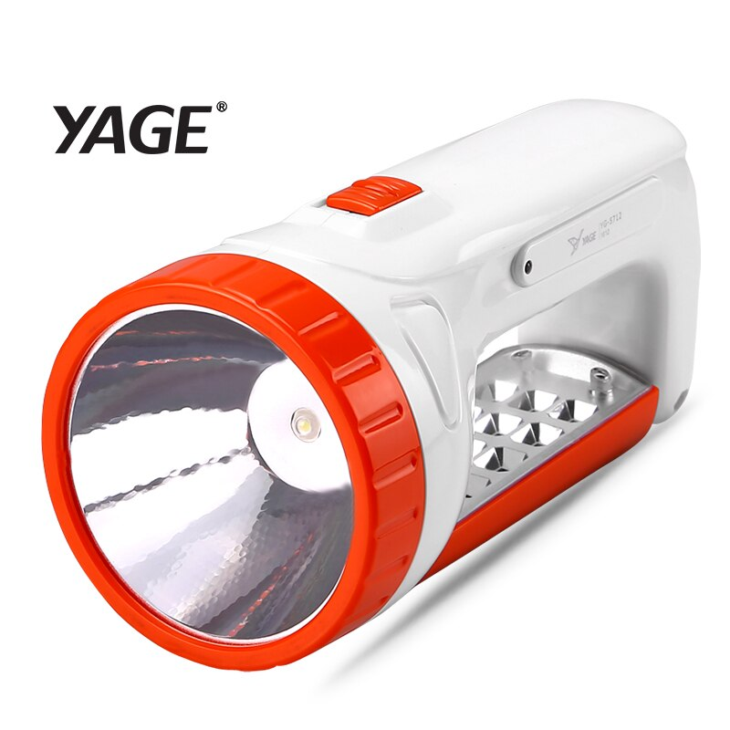 YAGE, linterna led portátil, Engergy linterna Solar, reflector portátil, doble lámpara, lámpara, lámpara de escritorio, luz de 2 modos