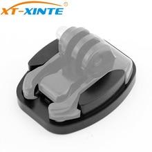 XT-XINTE Aluminum Black Flat Surface Tripod Mount Adapter for Gopro Hero 5 4 3 / SJcam / Yi Action Cameras with 1/4 Screw Hole