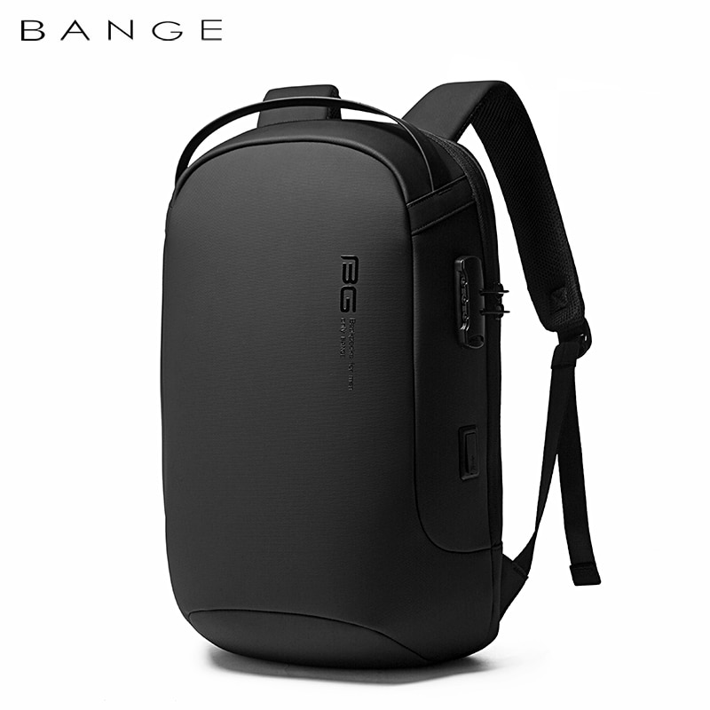 BANGE-حقيبة ظهر للكمبيوتر المحمول متعددة الوظائف للرجال ، حقيبة ظهر للكمبيوتر المحمول مقاس 15.6 بوصة ، مقاومة للماء ، حقيبة سفر مضادة للسرقة ، حق...
