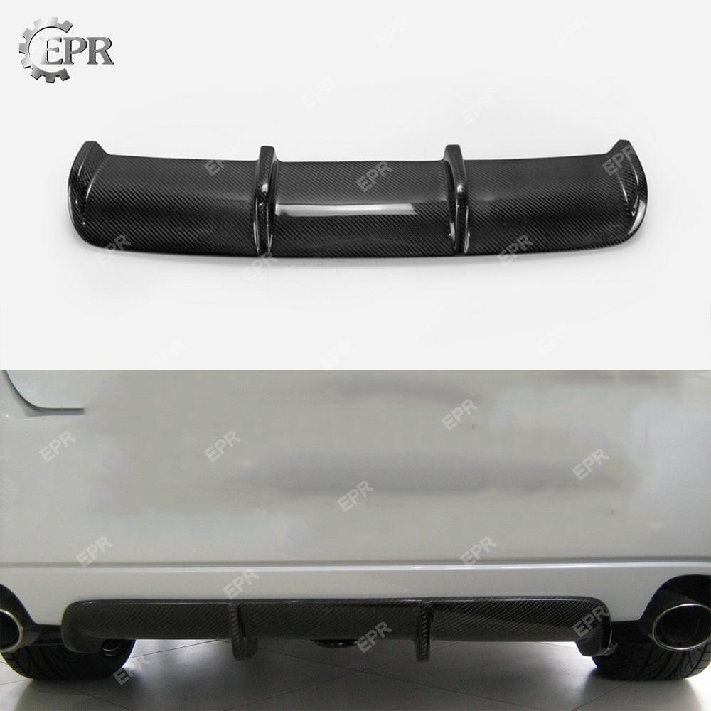For SUBARU BL BP 2004-2008 Legacy Carbon Fiber Rear Diffuser Trim Body Kit Tuning For Legacy Racing