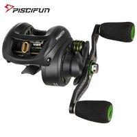 Piscifun Phantom Carbon Fiber Ultralight 162g Baitcasting Reel Dual Brake 7.7kg Max Drag 7.0:1 Freshwater Fishing Reel