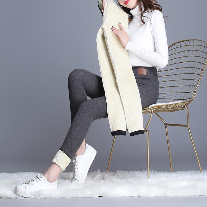 Xisteps Новинка 2021 осень-зима женские плотные бархатные брюки-карандаш с высокой талией женские облегающие брюки стрейч повседневная одежда