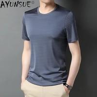 fashion t shirt streetwear o neck 1005 silk tshirts short sleeve men cltohing harajuku t shirt for men camiseta hombre wpy3691