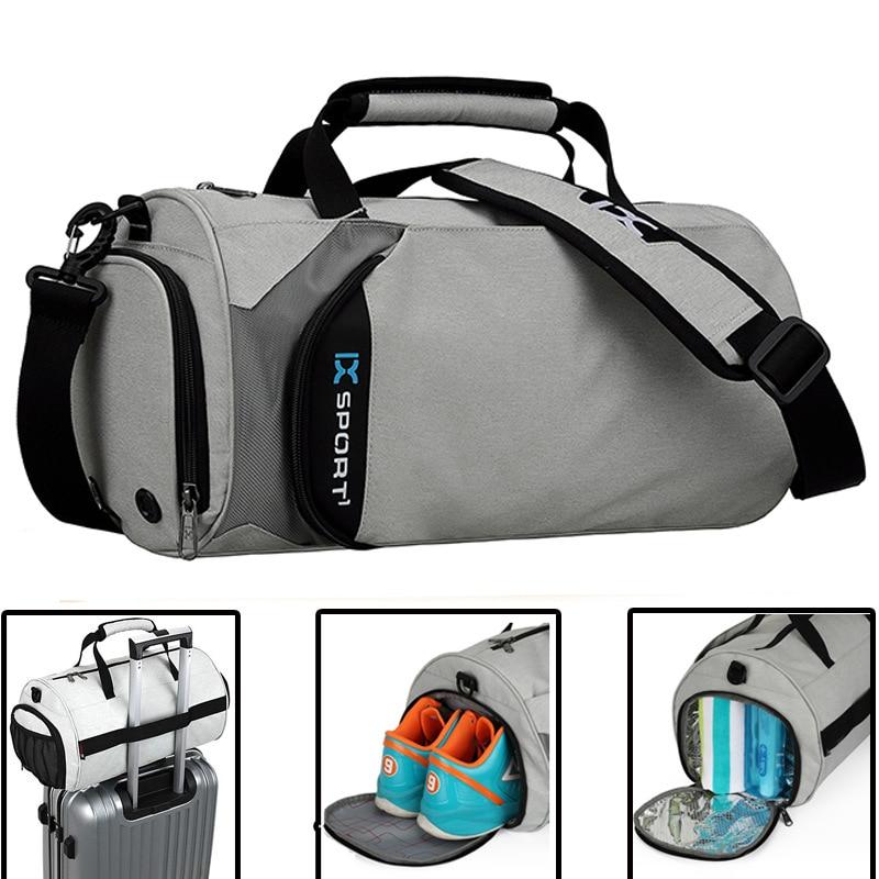 Men Gym Bags For Training Bag 2021 Tas Fitness Travel Sac De Sport Outdoor Sports Shoes Women Dry Wet Gymtas Yoga Bolsa