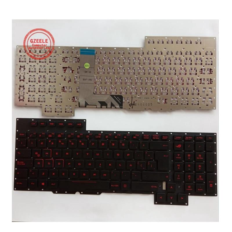 لوحة مفاتيح الكمبيوتر المحمول اللاتينية لأسوس G701 G701VO GX700 GX700VO LA