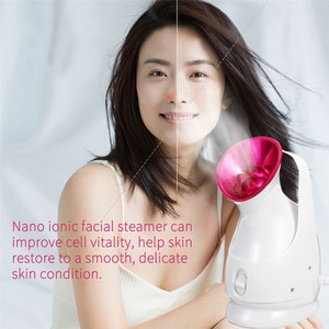 Facial Steamer Large-Capacity Water Tank 55ml Gentle And Deep Cleaning Face Steamer Electric Spa Face Steamer Whitening