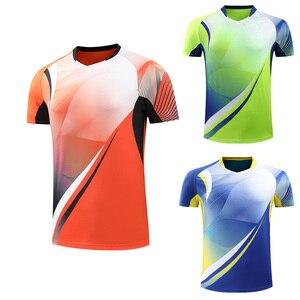 New 2019 Badminton T-shirt , table Tennis shirts Men / Women, Quick dry Tennis tshirts ,Table Tennis jerseys, sports shirt 225