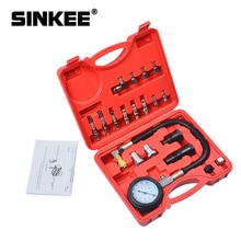 Автомобильная вакуумная система охлаждения Авто радиатор охлаждающей жидкости Заправка и продувка инструмент манометр комплект SK1088