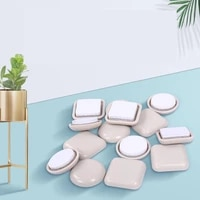4 pcslot 25mm self adhesive table and chair slide pad high furniture floor wear resistant quiet