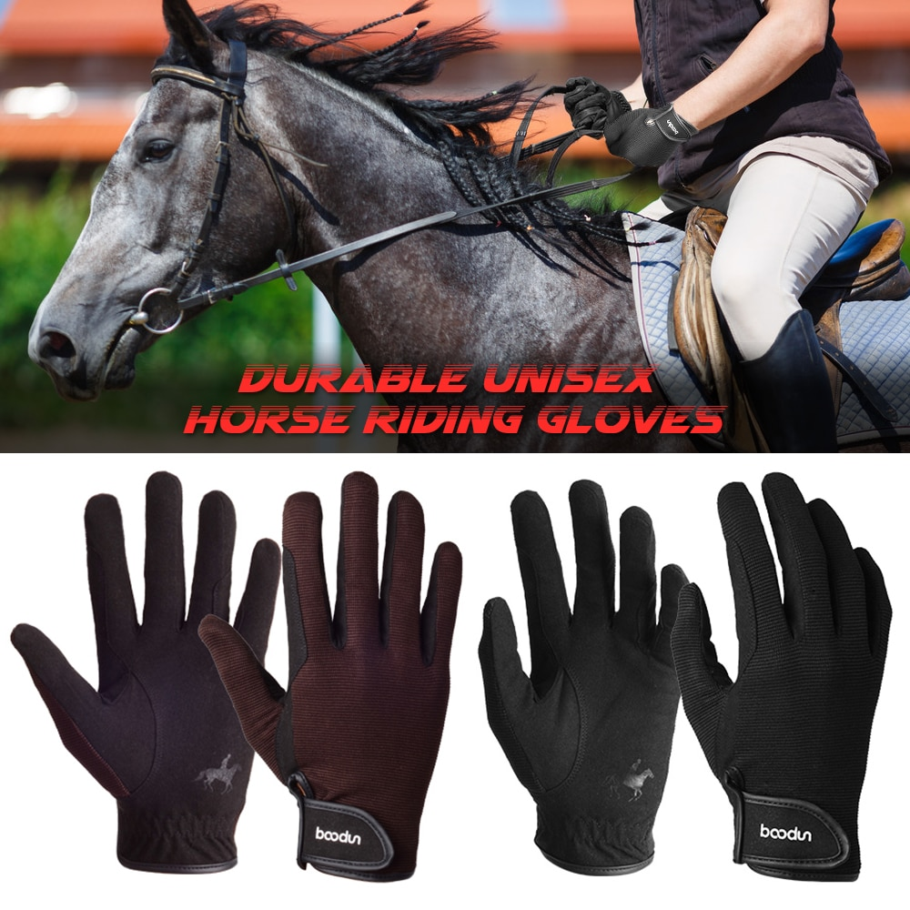 Professional Horse Riding Gloves Equestrian Horseback Riding Gloves Men Women Uni Baseball Softball Sports Gloves