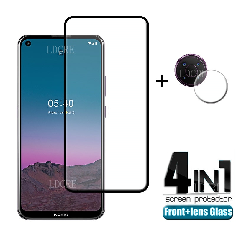 4-in-1-for-nokia-54-glass-for-nokia-54-tempered-glass-screen-protector-protective-camera-film-for-nokia-34-53-54-lens-glass