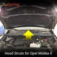 Car Front Hood Supporting Hydraulic rod Lift Strut Spring Shock Bars Bracket For Opel Vauxhall Mokka X Buick Encore 2012-2019