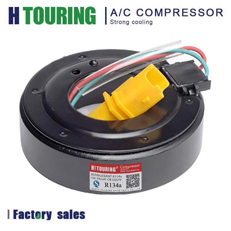 SD7C16 aire para compresor de aire acondicionado magnético embrague electromagnético bobina para Peugeot 307 Peugeot 308 CC 508 SW 3008, 5008*103*60,5*45*32