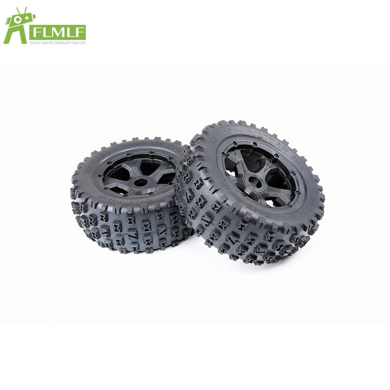 Rueda de tacos neumáticos Asamblea apto para 1/5 Losi 5ive T ROFUN ROVAN-KingmotorX2 Universal BAJA 4WD / SLT juguetes partes