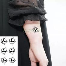 Imperméable à leau temporaire tatouage autocollant Naruto Anime faux tatto autocollants flash tatoo main pied corps art pour fille hommes femmes enfants