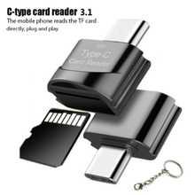 Высокоскоростной OTG Type-C кардридер USB 3,1, адаптер для TF, Micro SD, Otg адаптеры для телефонов, кардридер для Micro SD