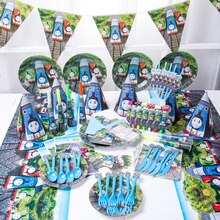 Thomas And Friends Birthday Party Decorations Kids Baby Shower Gift Bag Balloon Paper Cups Plates Di