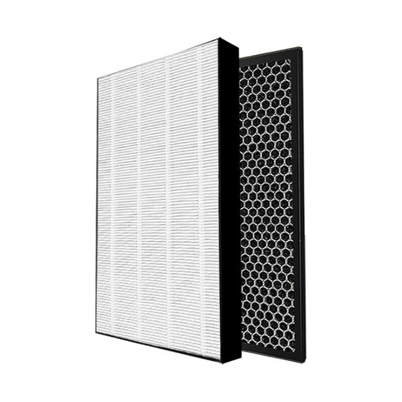 فلتر HEPA فلتر الكربون المنشط لشركة فيليبس AC1215 AC1214 AC1210 AC1213 مرشح تنقية الهواء أجزاء